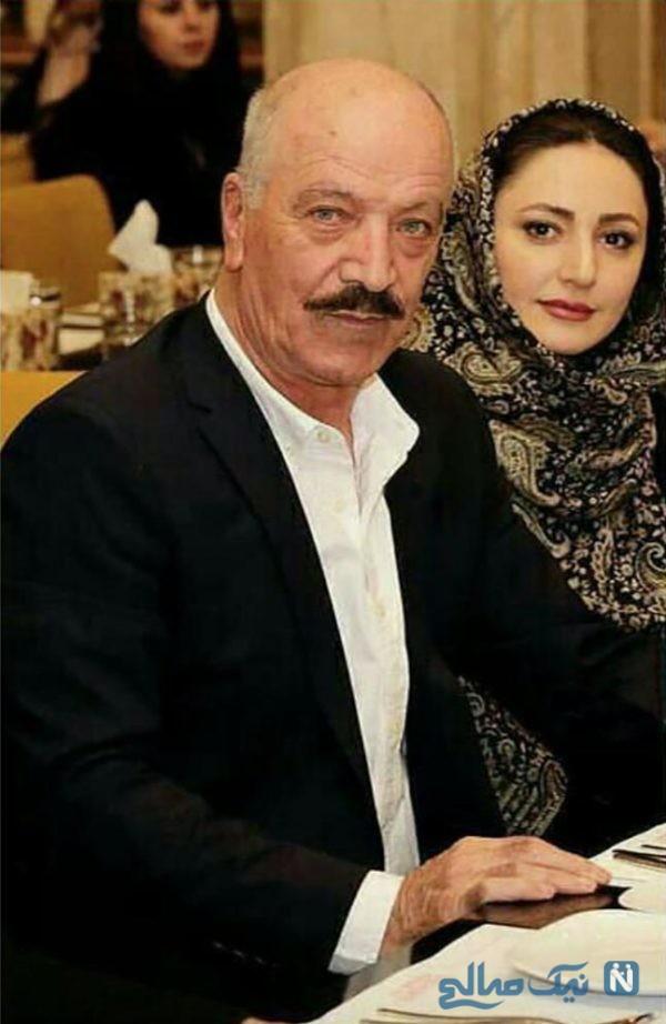 سعید راد و همسرش