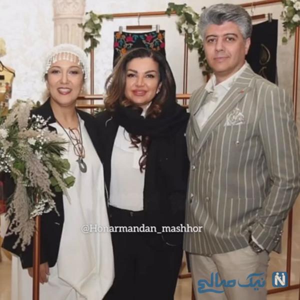 شهرام پوراسد و همسرش