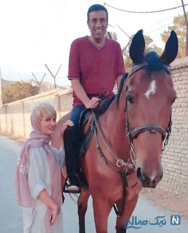 عکس نصرالله رادش و همسر دومش