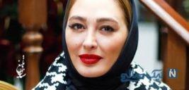تیپ خاص الهام حمیدی در دیدار با آقای صدای ایرانی