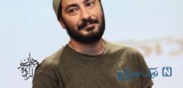 تیپ عجیب نوید محمدزاده به همراه دختر برادرش