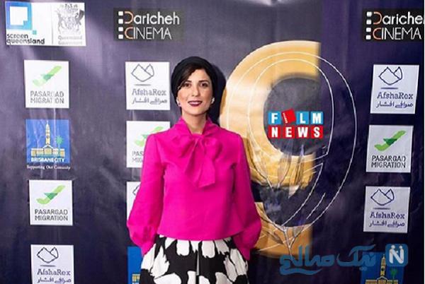 لباس جالب سارا بهرامی در جشنواره فیلم استرالیا