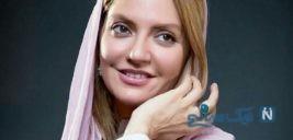 عکسی از استایل جدید مهناز افشار که مدل کانسپچوال است