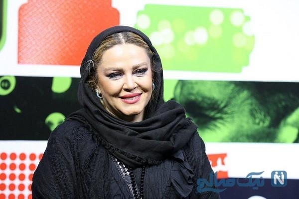 سلفی هیجان انگیز بهاره رهنما و همسرش در کنسرت طلیسچی