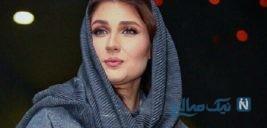 ظاهر جدید با تیپ مشکی گلوریا هاردی و ساعد سهیلی همسرش