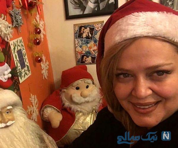 عکسهای کریسمس بهاره رهنما