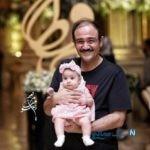 عکس جدید از مهران غفوریان و همسرش به همراه دخترشان هانا