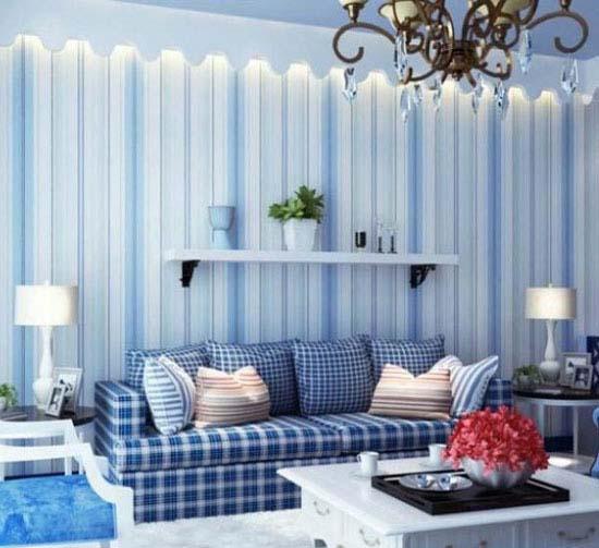 زیبایی چشم گیر با رنگ آبی در دکوراسیون داخلی /فواید رنگ آبی تصاویر زیبا
