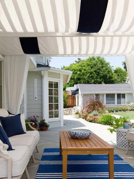 راههایی برای لذت بردن از فضای بیرونی خانه  تصاویر