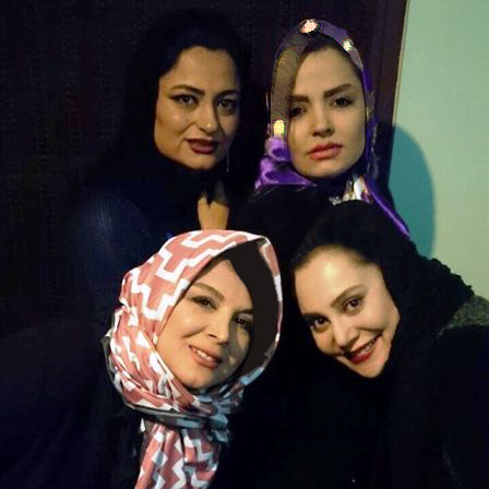 عکس های جشن تولد 35سالگی آرام جعفری در کنار سایر بازیگران زن