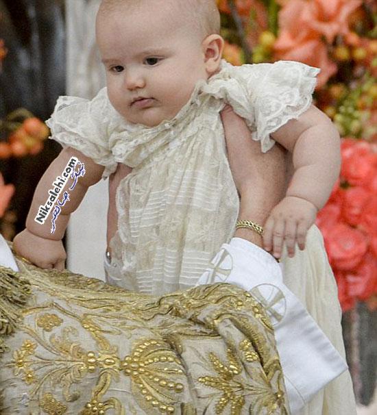 مراسم غسل تعمید جدیدترین شاهزاده سوئدی