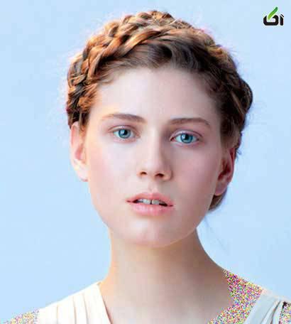آموزش 6 مدل زیبای بافت مو  تصاویر