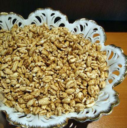 طرز تهیه گندمک شیرین خانگی