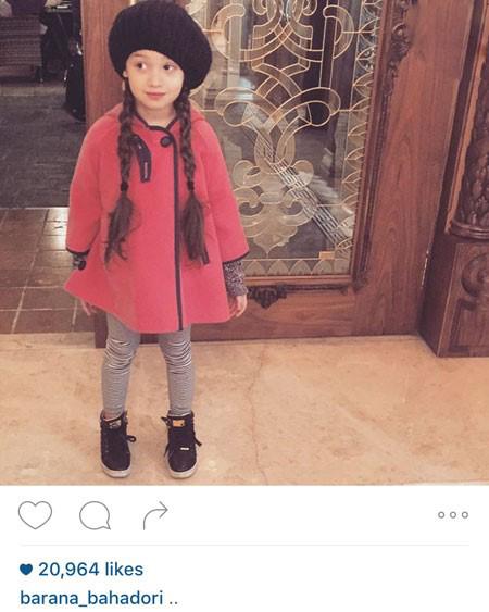 بنیامین بهادری و دخترش بارانا در دوبی تصاویر