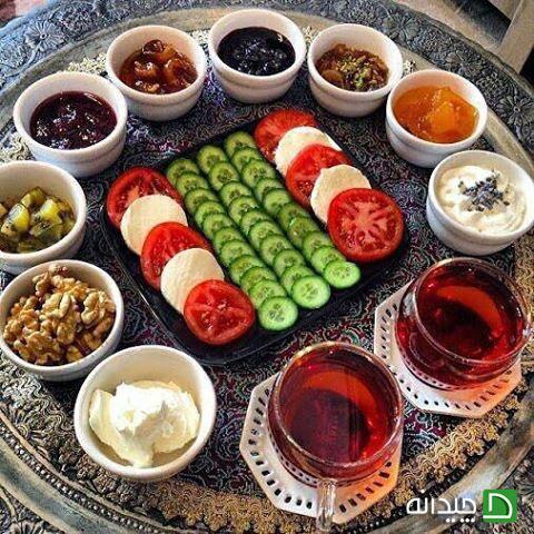 ۱۰ چیدمان بی نظیر سفره افطار