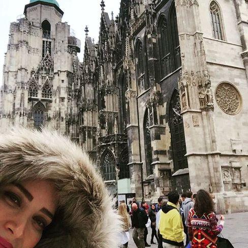 عکس های بهنوش طباطبایی در سفر به کشورهای اروپا
