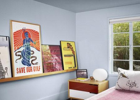 کاربرد شلف های دیواری برای داشتن دکوراسیون خیلی شیک تصاویر