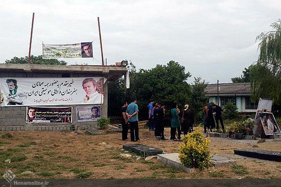 میزبانی طرفداران حبیب محبیان در روستای نیاسته در کتالم رامسر! تصاویر