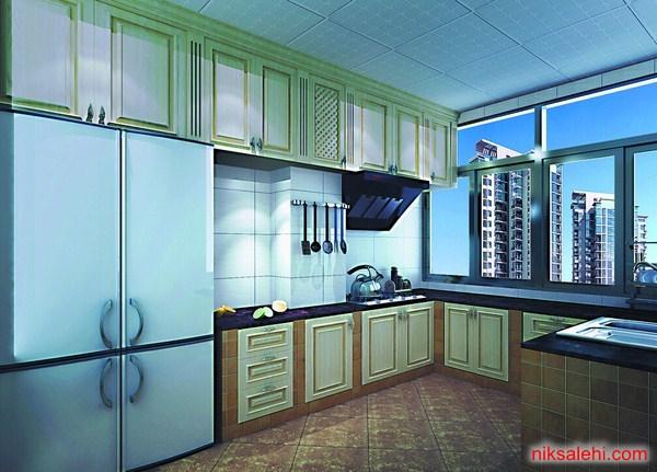 دکوراسیون آشپزخانه مدرن و جدید 2015  تصاویر
