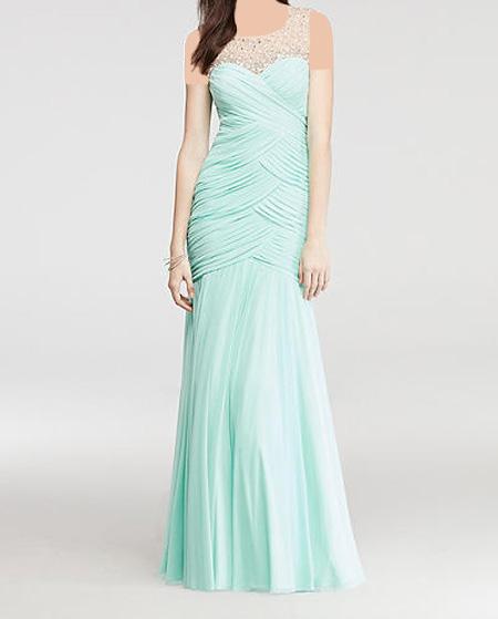 انواع مدلهای لباس شب بلند زنانه