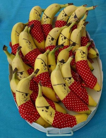 کاریکاتوروعکس های جالب و خنده دار از میوه ها