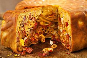 کیک ماکارونی، یک غذای متفاوت برای کودکان بدغذا!!br /