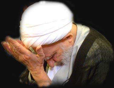 فریاد ایت الله بهجت هنگام نماز!!!