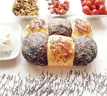 اگر به دنبال یک نان کم کالری و خوشمزه هستید! عکس