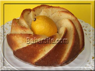 کیک پاییزی خوشمزه با لیمو! عکس