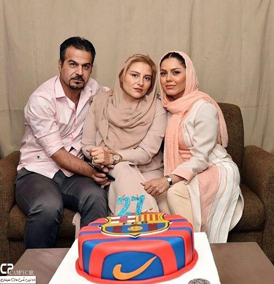 جشن تولد 27 سالگی آزاده زارعی با حضور هنرمندان مشهور