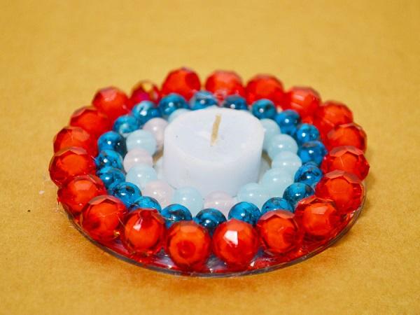 ساخت کاردستی شمعدان  تصاویر