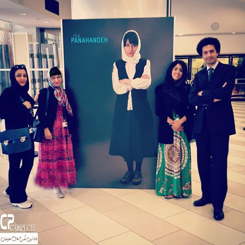 عکس های هنرمندان فیلم ناهید در جشنواره فیلم کن