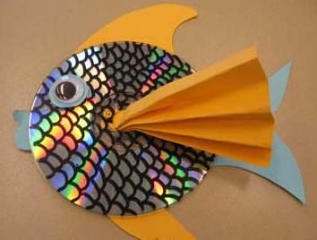 اموزش کاردستی ماهی بسیار زیبا با وسایل دورریختنی