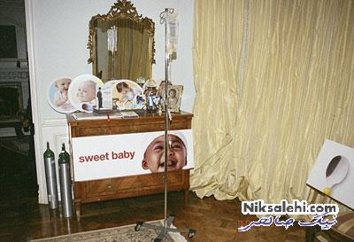 تصاویری از اتاق خواب مایکل جکسون پیش از مرگ