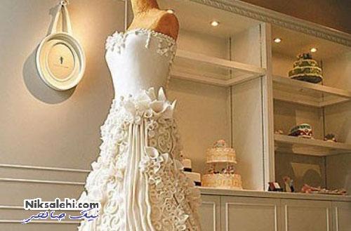 لباس عروسی که آنقدر شیرین و زیباست که نمی شود پوشید