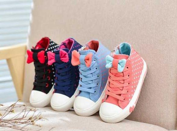 جدیدترین کفش اسپرت و مجلسی دختر بچه ها 2016 تصاویر