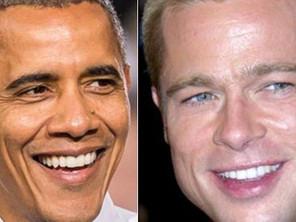 باراک اوباما و برد پیتbr /