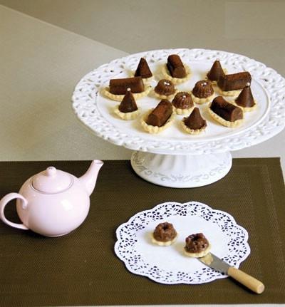 حلوای گلاب و آرد نخودچی