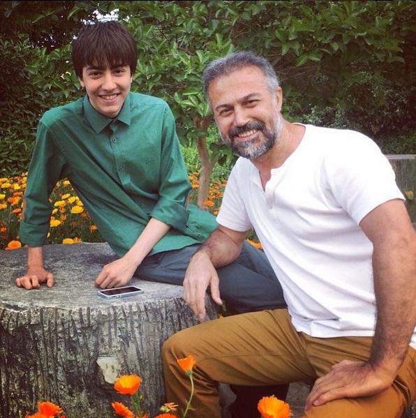 عکس های جدید دانیال حکیمی و فرزندانش دایانا و دانا