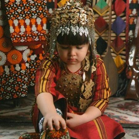 زیورآلات ترکمن، زیورآلاتی برپایه شکل و هندسه  تصاویر