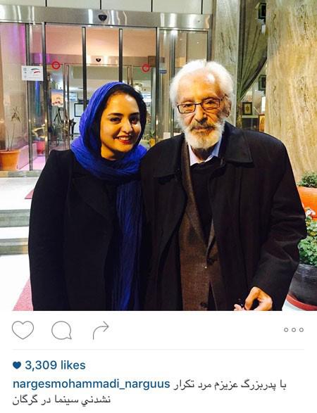 عکسهای جدید از نرگس محمدی بازیگر مشهور تصاویر