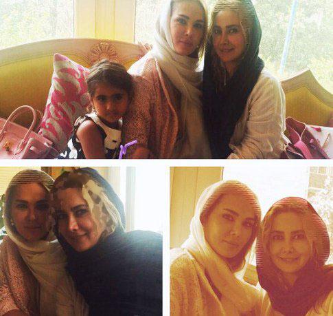عکس های جدید آنا نعمتی از کیک تولد دخترش تا...