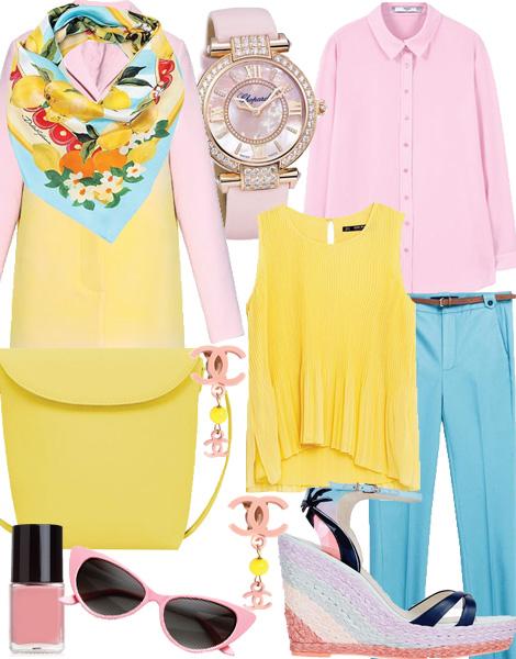 بهترین ست ها برای تابستان/ خوش پوشی خانم ها در فصل گرما
