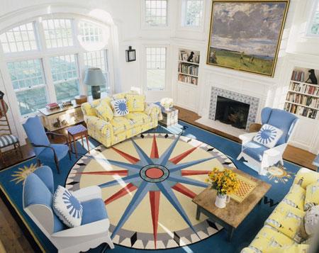 استفاده از رنگ آبی در چیدمان و دکوراسیون خانه  تصاویر