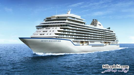 داخل لوکس ترین کشتی مسافربری دنیا را ببینید