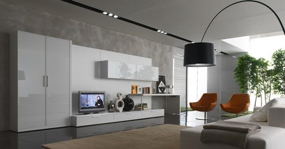مدل میز تلویزیون مدرن و چیدمان آن در منزل  تصاویر