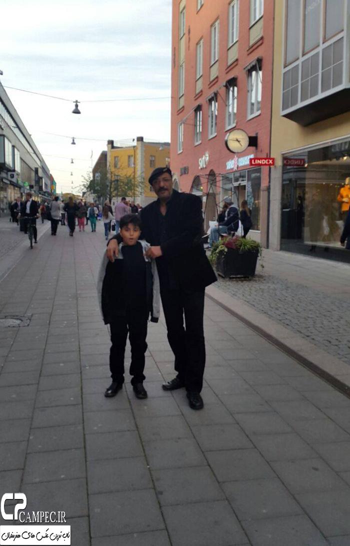 عکس های جالب امیر جعفری و همسرش ریما رامین فر در سوئد