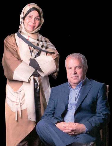 علی پروین از مهریه همسرش تا مخالفت با بازیگری دخترش می گوید! تصاویر