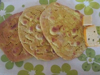 طرز تهیه نان تافتون خوشمزه خانگی