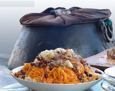 طرز تهیه پلو بخارا ، غذای سنتی ازبکستان! عکس